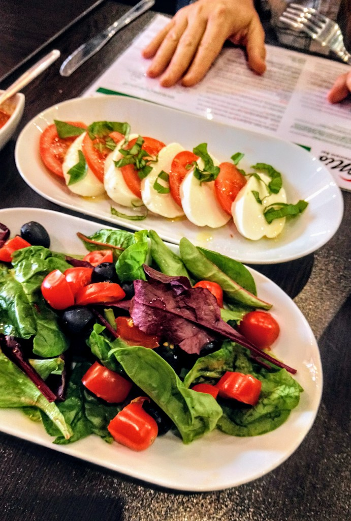 Salads at Mio by boxplayer