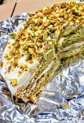 18th Sep 2018 - Courgette and pistachio cake