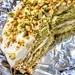 Courgette and pistachio cake