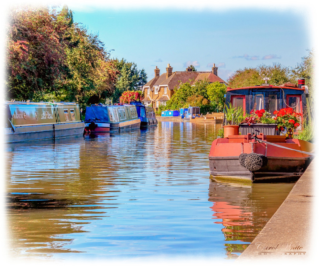 The Grand Union Canal,Buckby by carolmw
