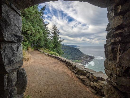 Oregon Coast Pathway - Cape Perpetua by rosiekerr