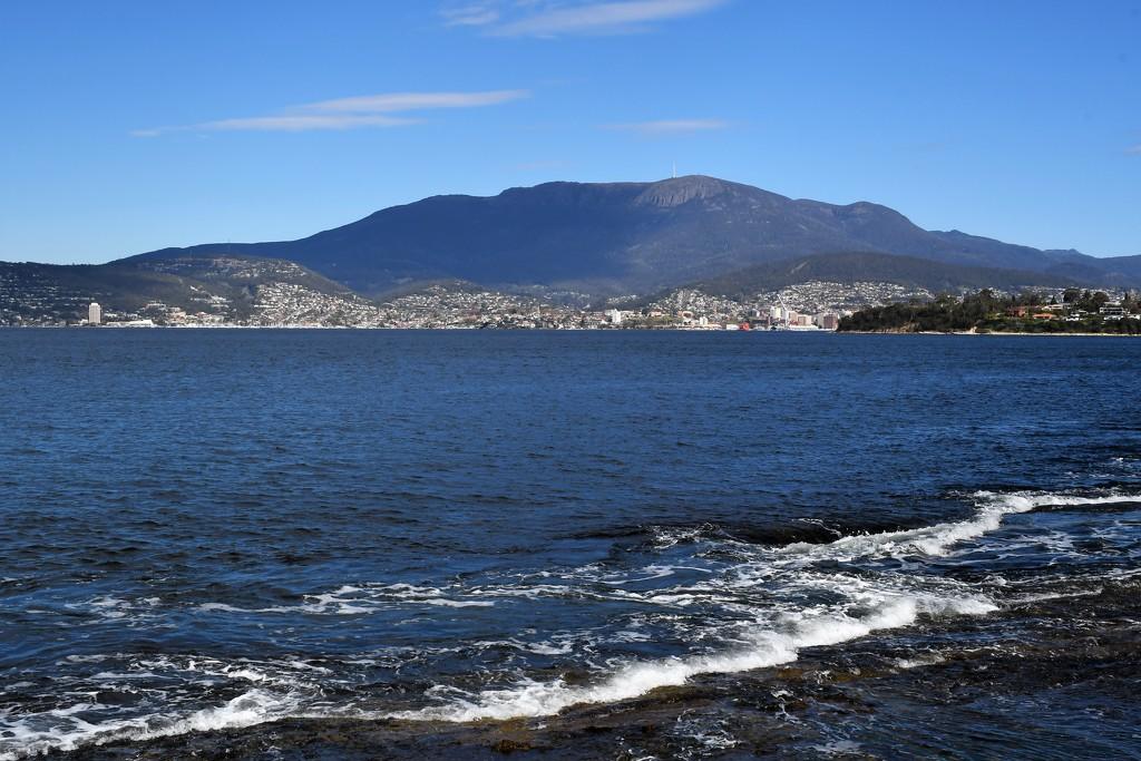 Looking towards Hobart, Tasmania, Australia by kgolab