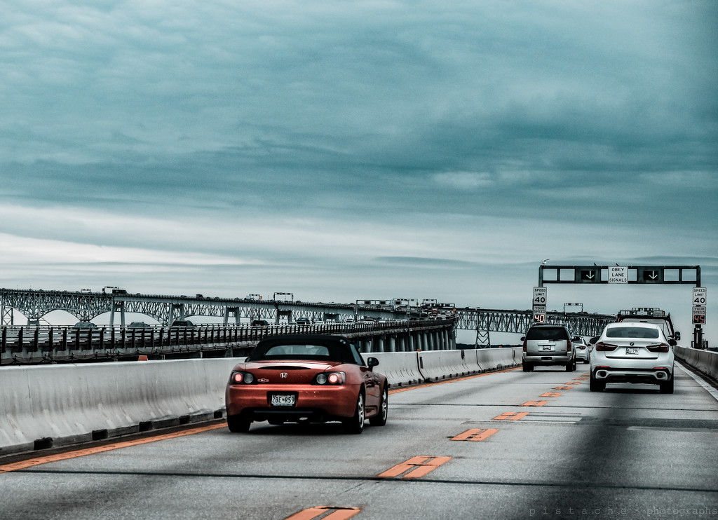 chesapeake bay bridge by pistache