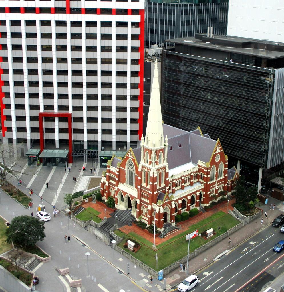Looks like a Leggo  church by 777margo