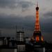 Eiffel tower by parisouailleurs