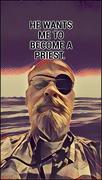 8th Feb 2018 - Priest Or Pirate?