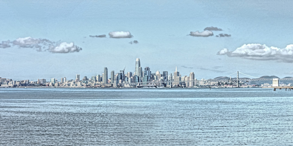 San Francisco View by mikegifford