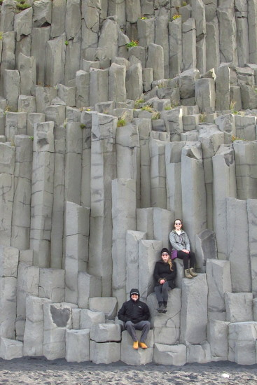 Columnar Basalt - also near Vik by robz