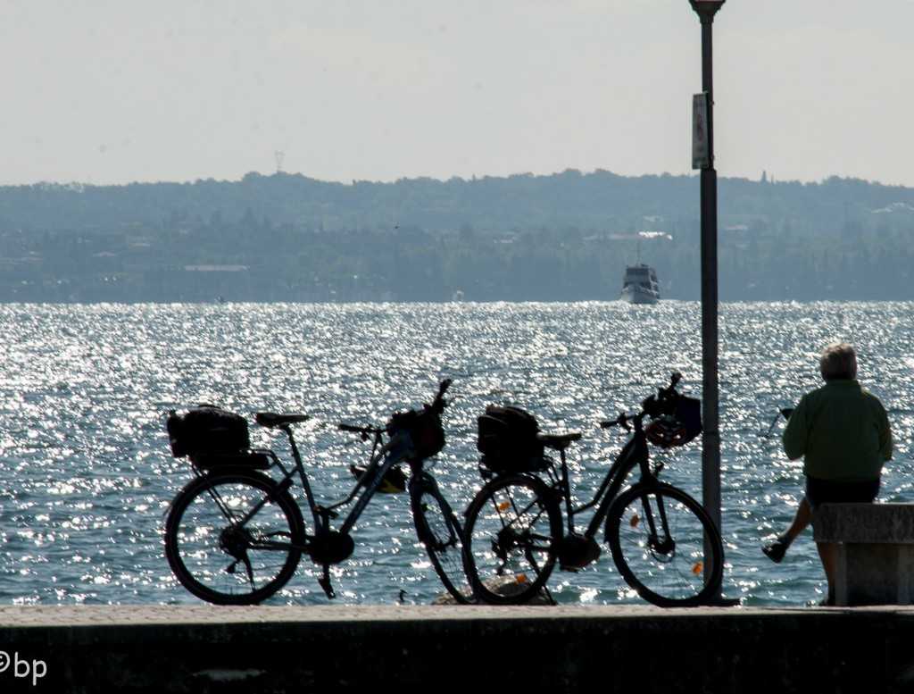 waiting for the ferry by caterina