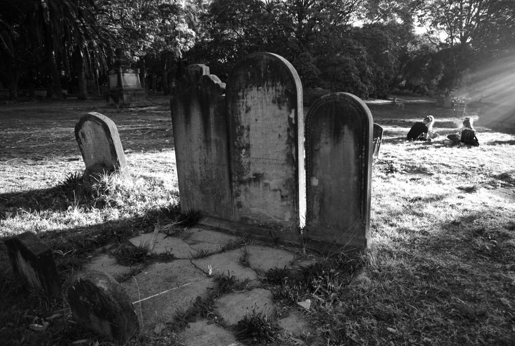 picnic in a graveyard  by fr1da