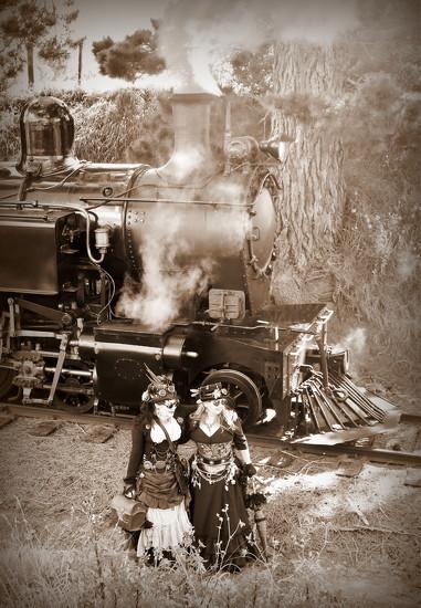 Steampunk Express by nickspicsnz