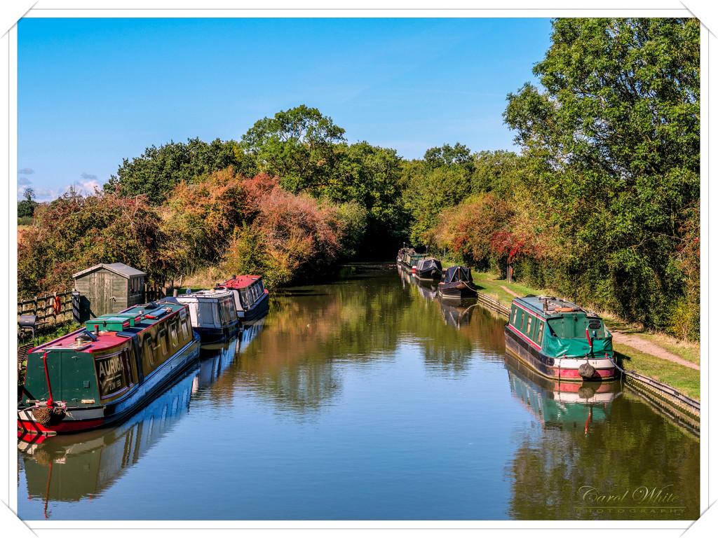 Narrowboats And Reflections by carolmw