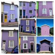 5th Oct 2018 - Purple Buildings II