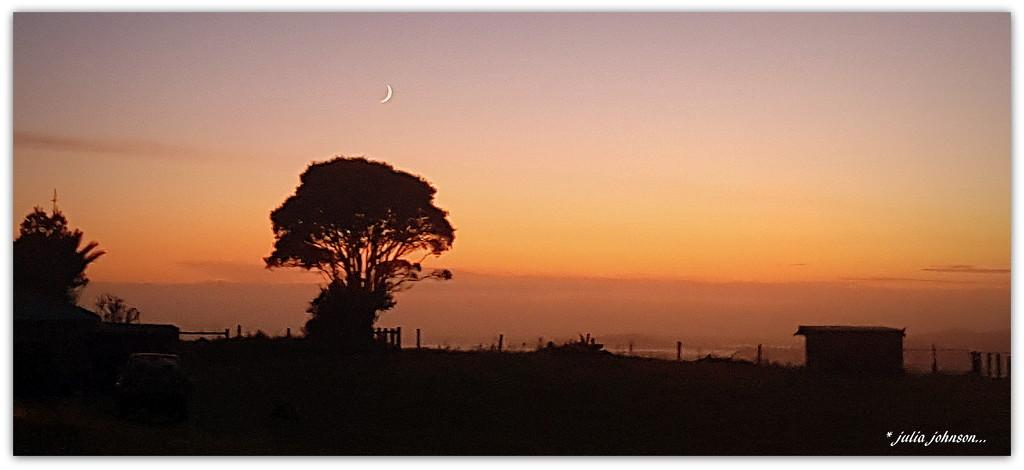 Sunrise and Moonset... by julzmaioro