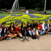 Happy group of youngsters from Burma enjoying the Roma Street Gardens