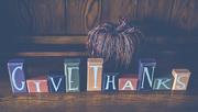 8th Oct 2018 - Happy Thanksgiving