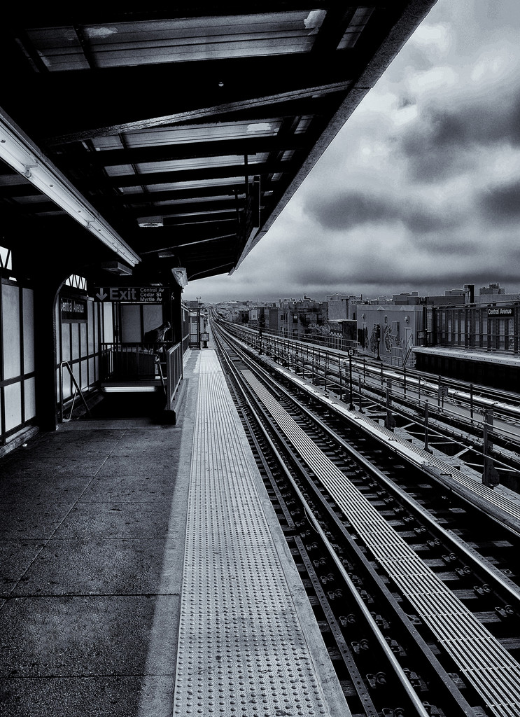 Waiting on a train  by soboy5