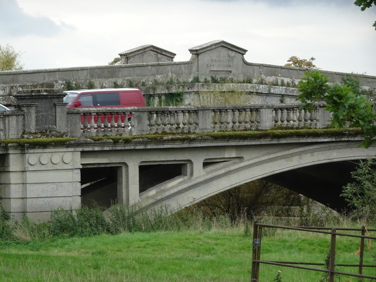 The two bridges at Atcham    by beryl
