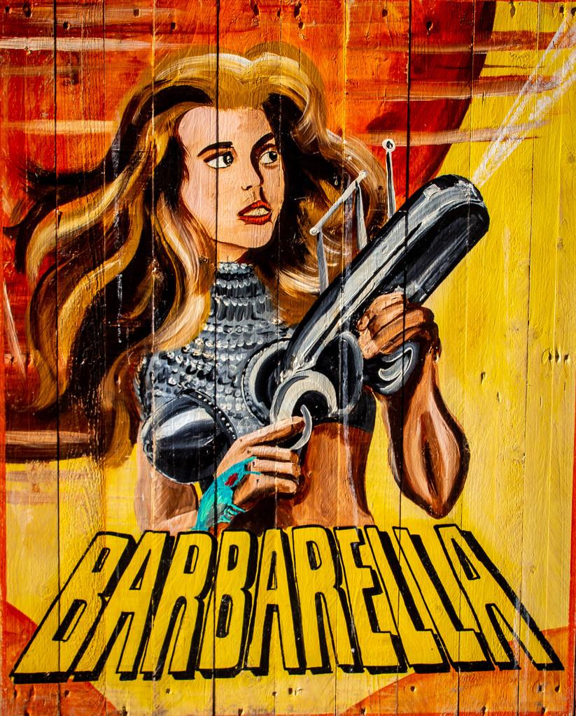 Barbarella by swillinbillyflynn