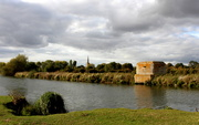 30th Sep 2018 - Pillbox on the river Thames