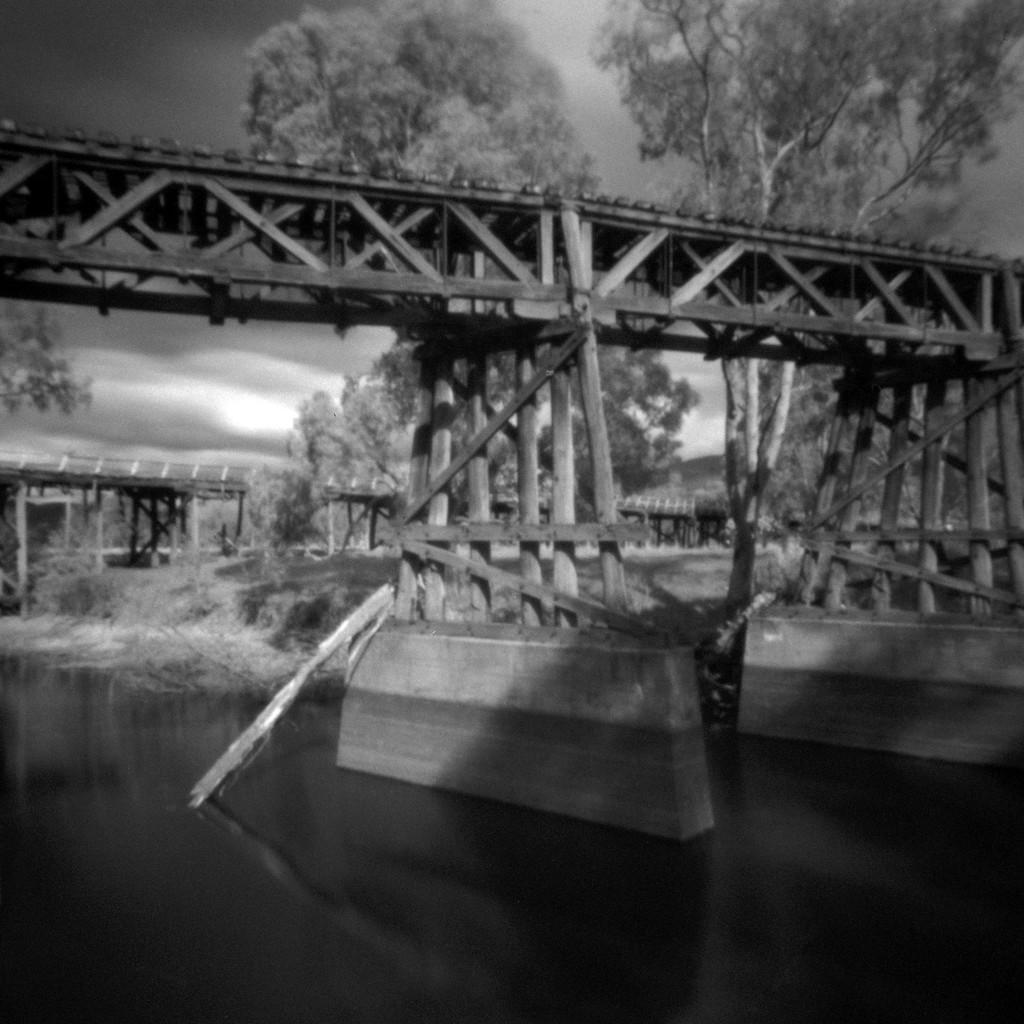 Abandoned bridges by peterdegraaff
