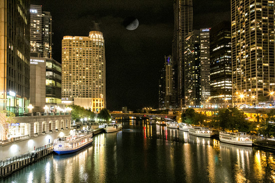 Chicago Moonlight by pdulis