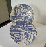 11th Oct 2018 - My linoprinted ceramics