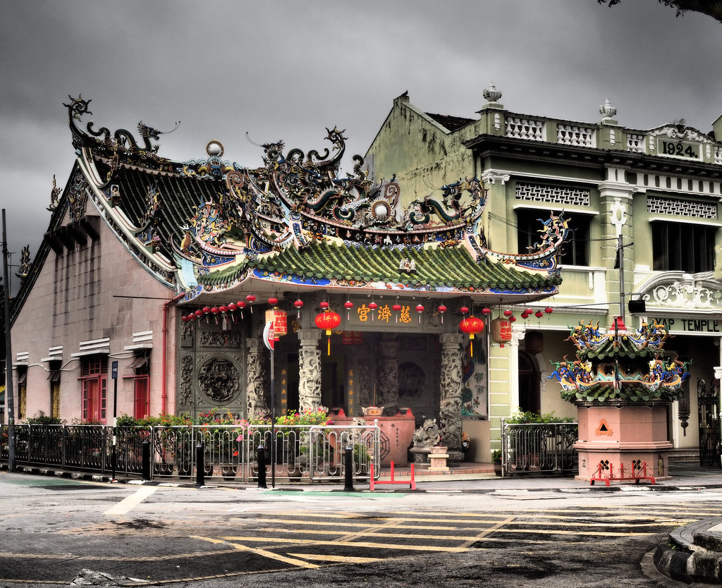 Temple Cheng Leong Keong Temple by ianjb21