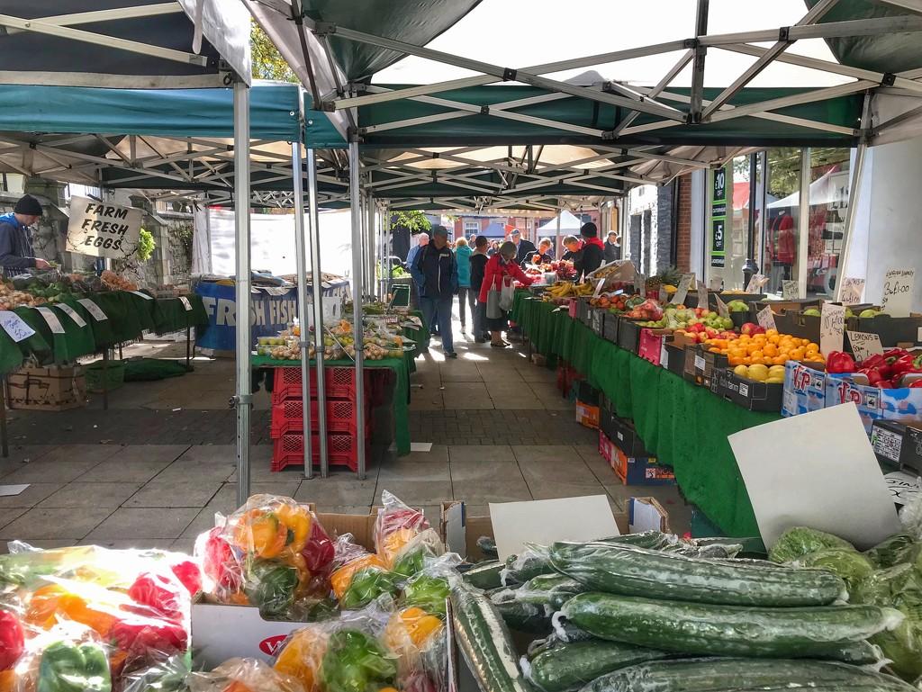 Market place, Poulton le Fylde by happypat