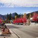 Downtown Rossland in autumn