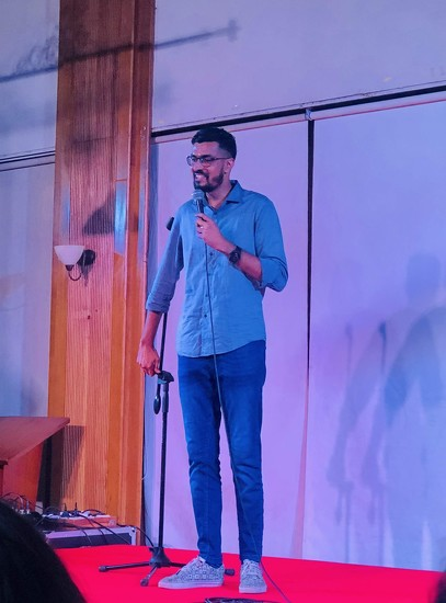 Stand up comedy  by veengupta