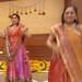 Navratri festival dancers