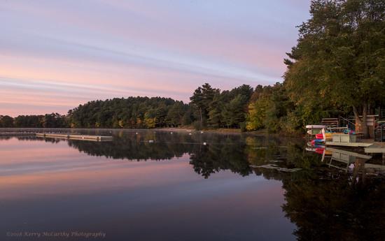 Early morning at the lake by mccarth1