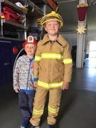 16th Oct 2018 - Junior firefighter