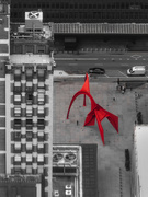 12th Oct 2018 - Calder's Flamingo from 1353 Feet Above