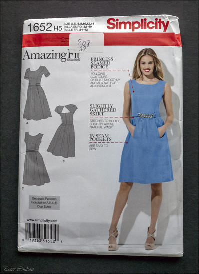 Simplicity Dress Pattern by pcoulson