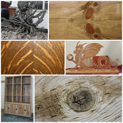 17th Oct 2018 - Wooden Things