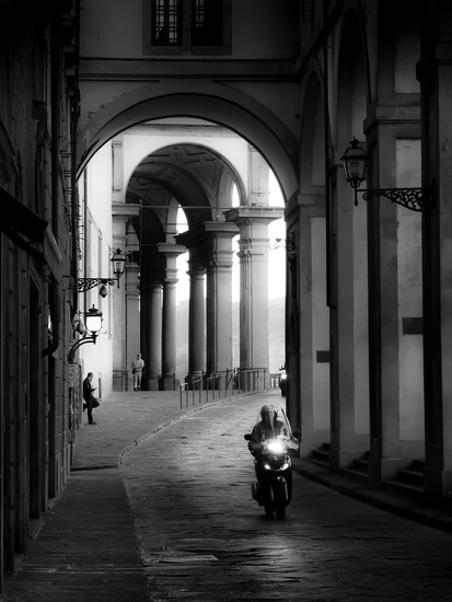 early morning in Florence by northy