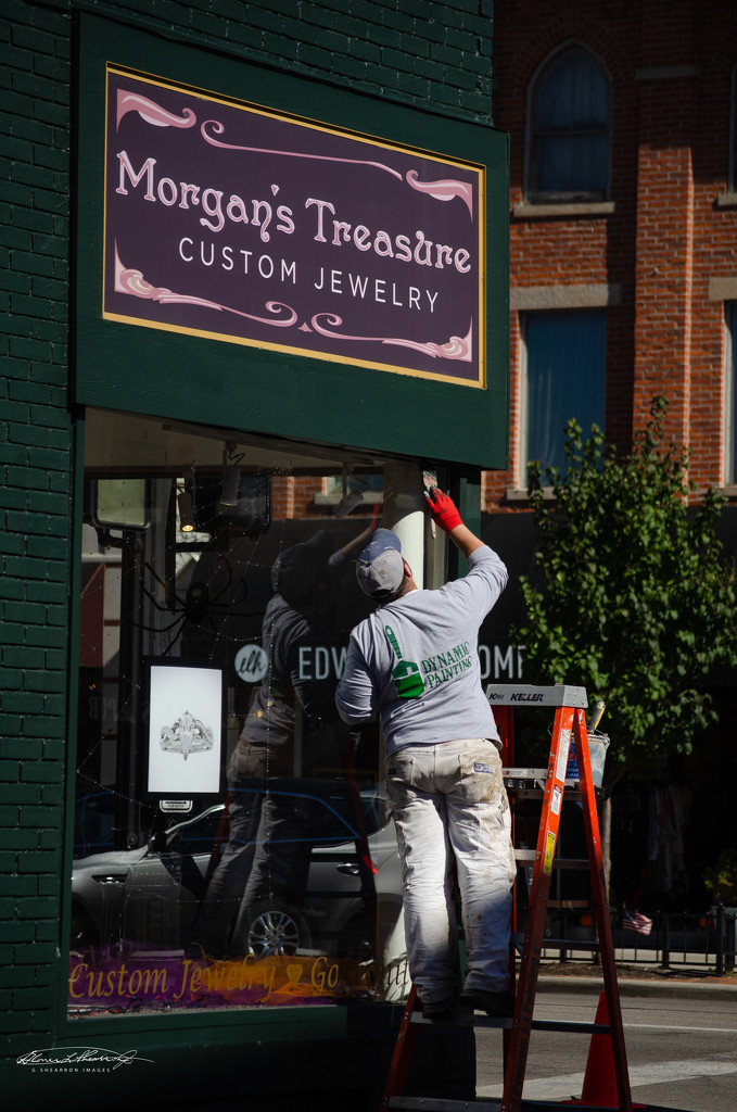 Touch-up at Morgan's by ggshearron