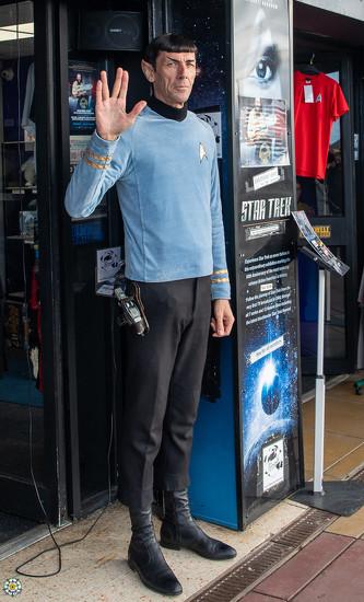 Mr Spock by lumpiniman