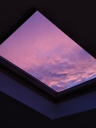 17th Oct 2018 - Red sky at night - or pink or purple!