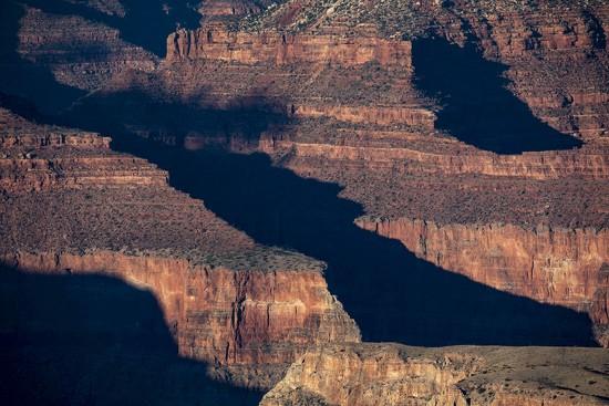 Closeup of Canyon at Sunset by jyokota