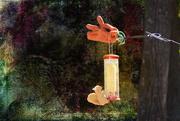19th Oct 2018 - Toy Squirrel Artwork