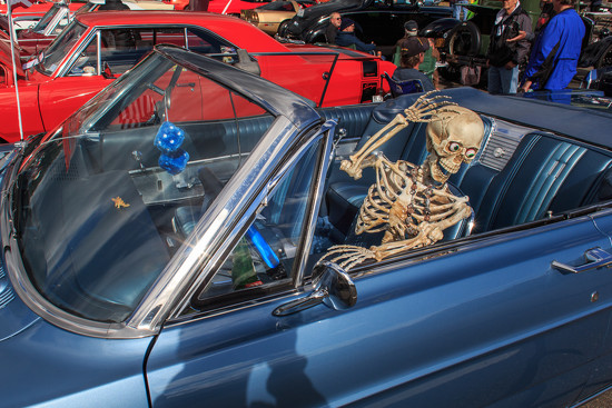 You've got to like an October car show. by batfish