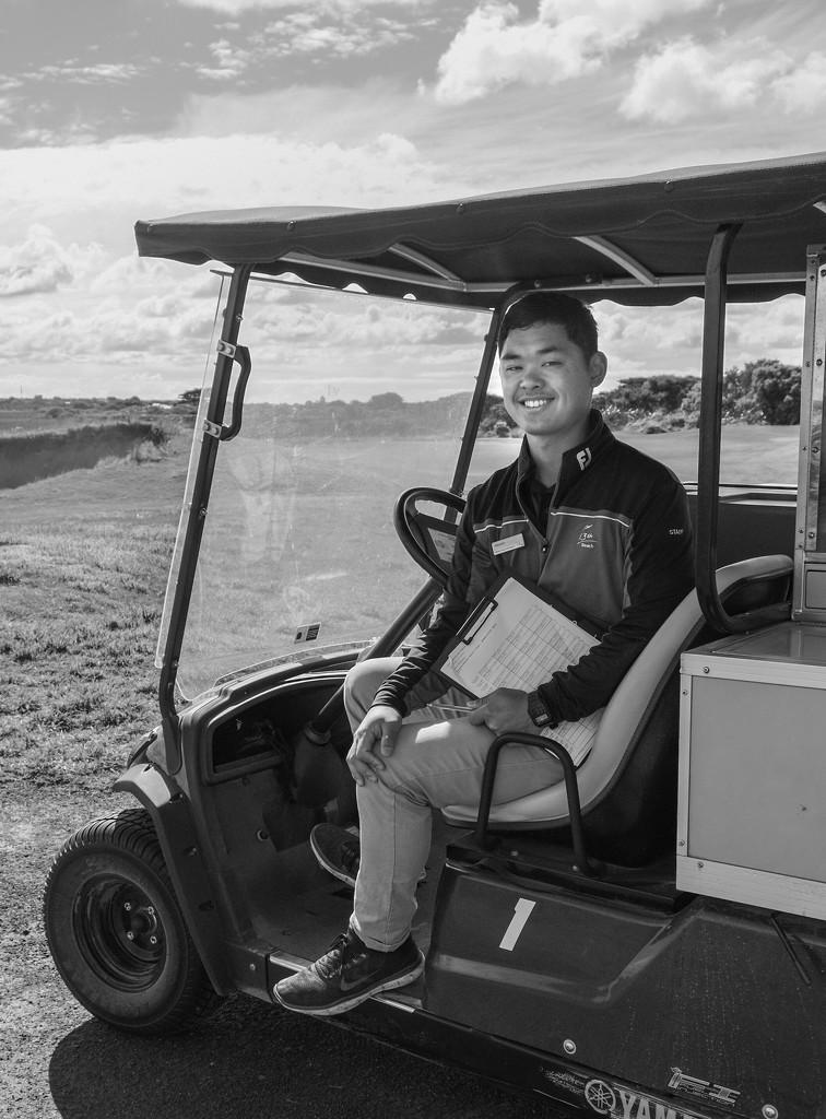 Happy Hiroshi by golftragic