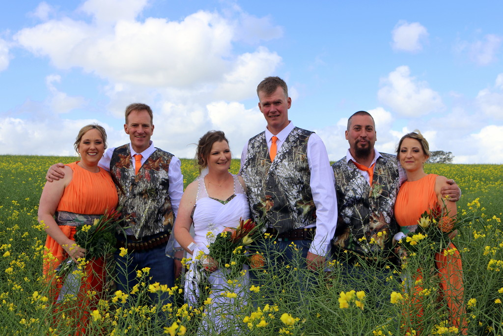The canola wedding by gilbertwood