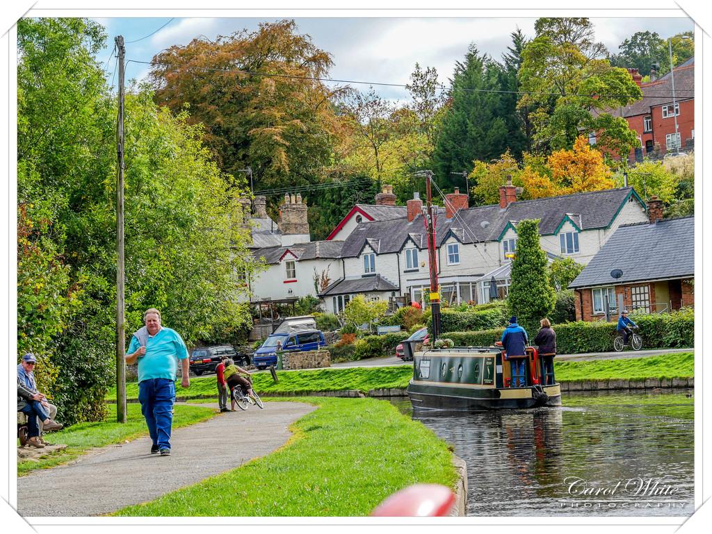 Boating On The Llangolen Canal by carolmw
