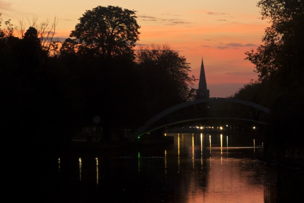 Dusk in Bedford by helenhall