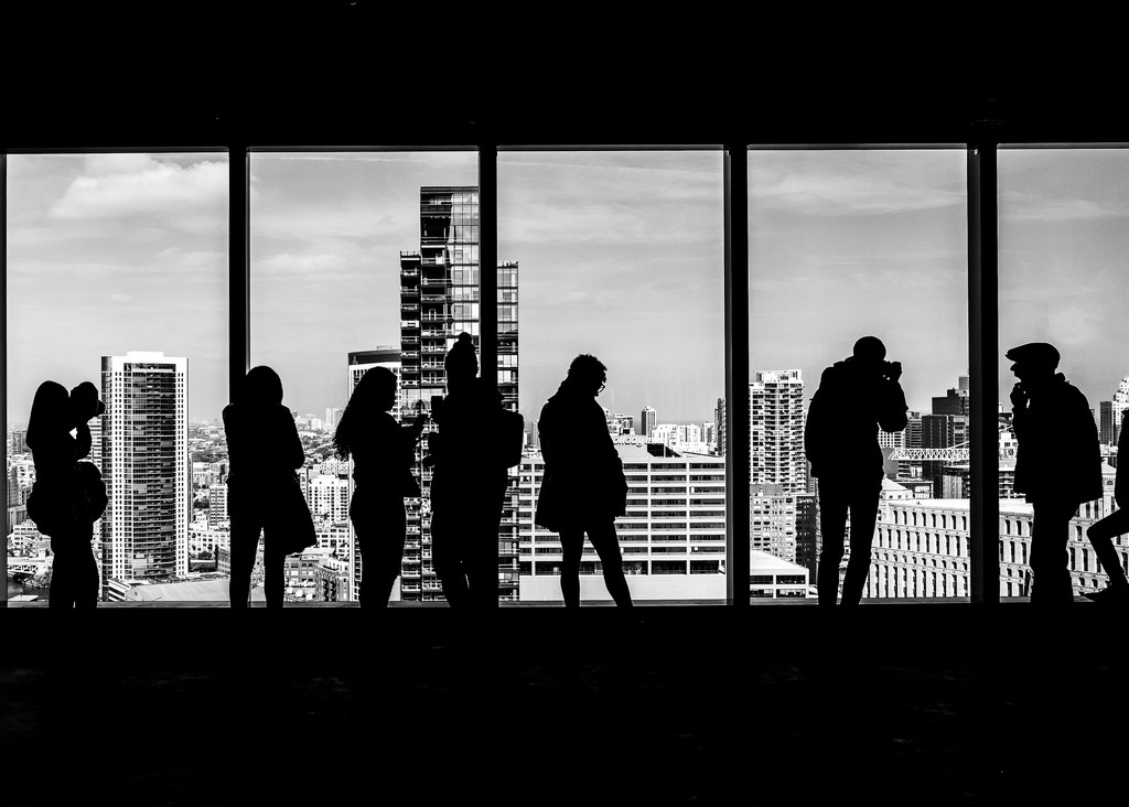 Silhouettes #1 by ukandie1