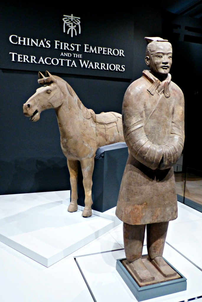Warrior and horse by judithdeacon
